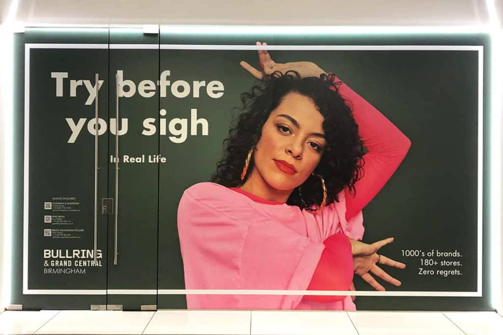 Shopping Centre Signs