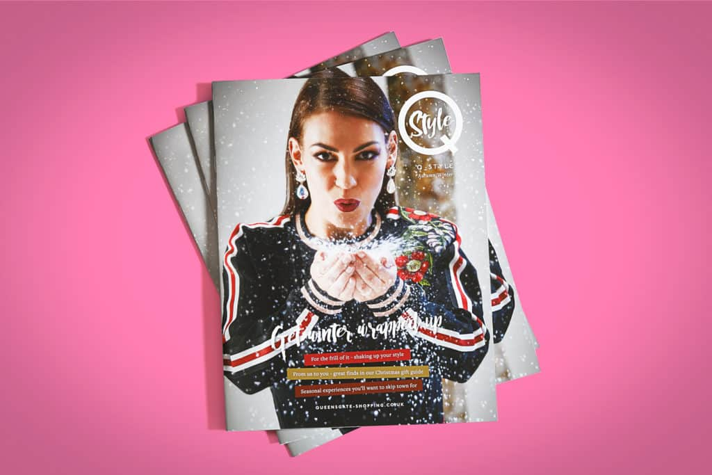 brochures, leaflets and magazines