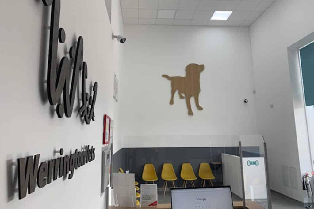 COVID signage Peterborough