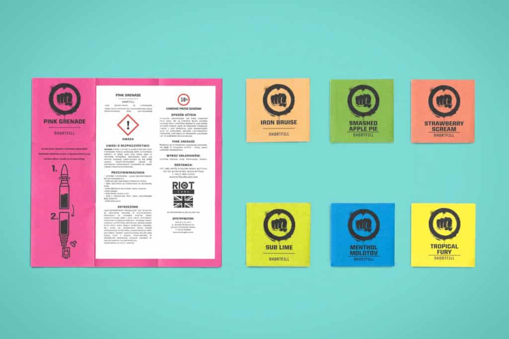 vape leaflet printing