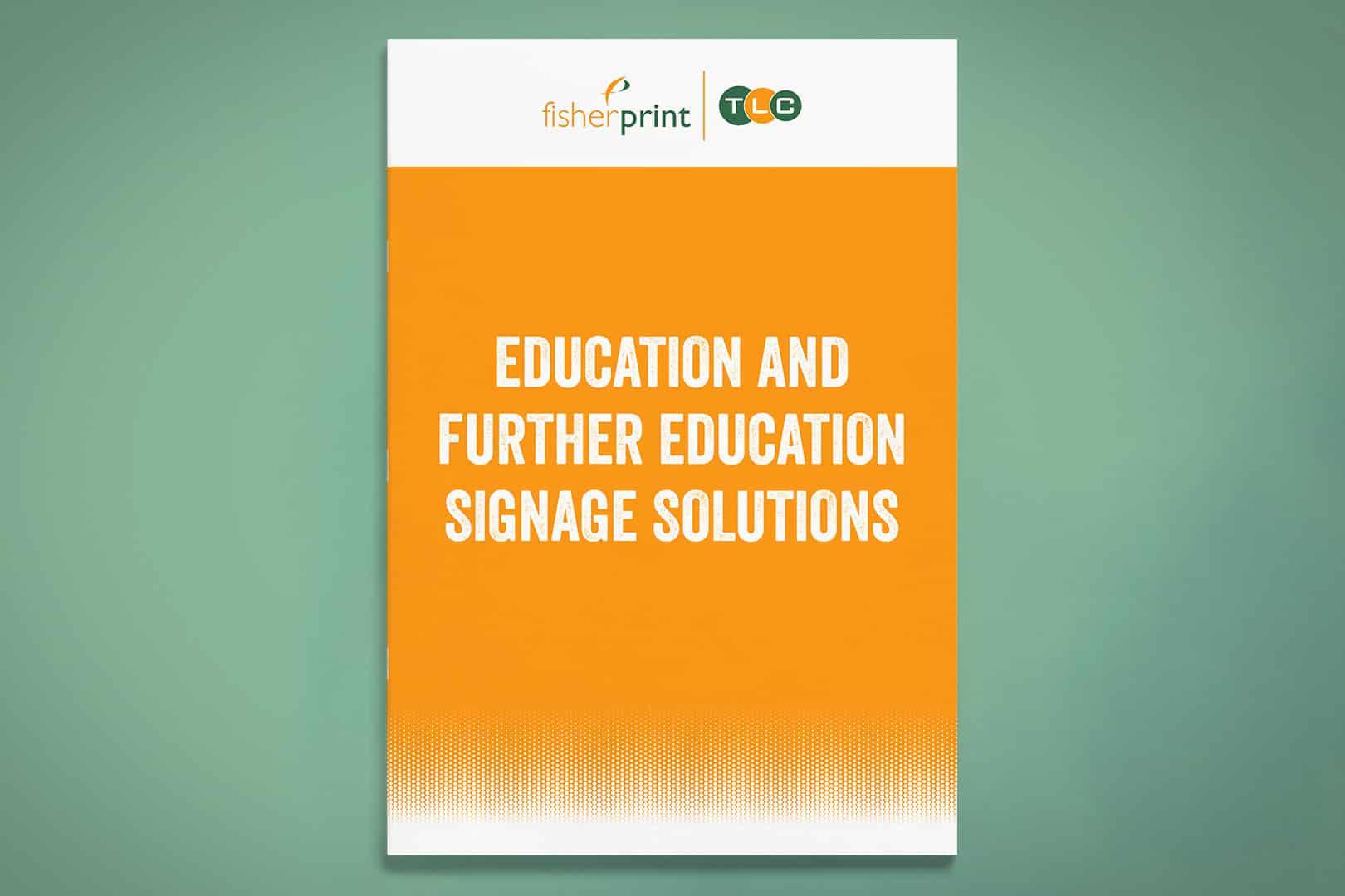 school and university signage
